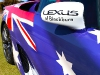 Lexus LFA Wrapped in Australian Flag