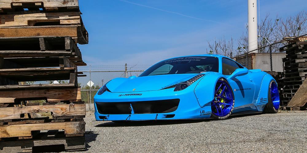 ferrari 458 italia 5 - Ferrari 458 Italia Blue