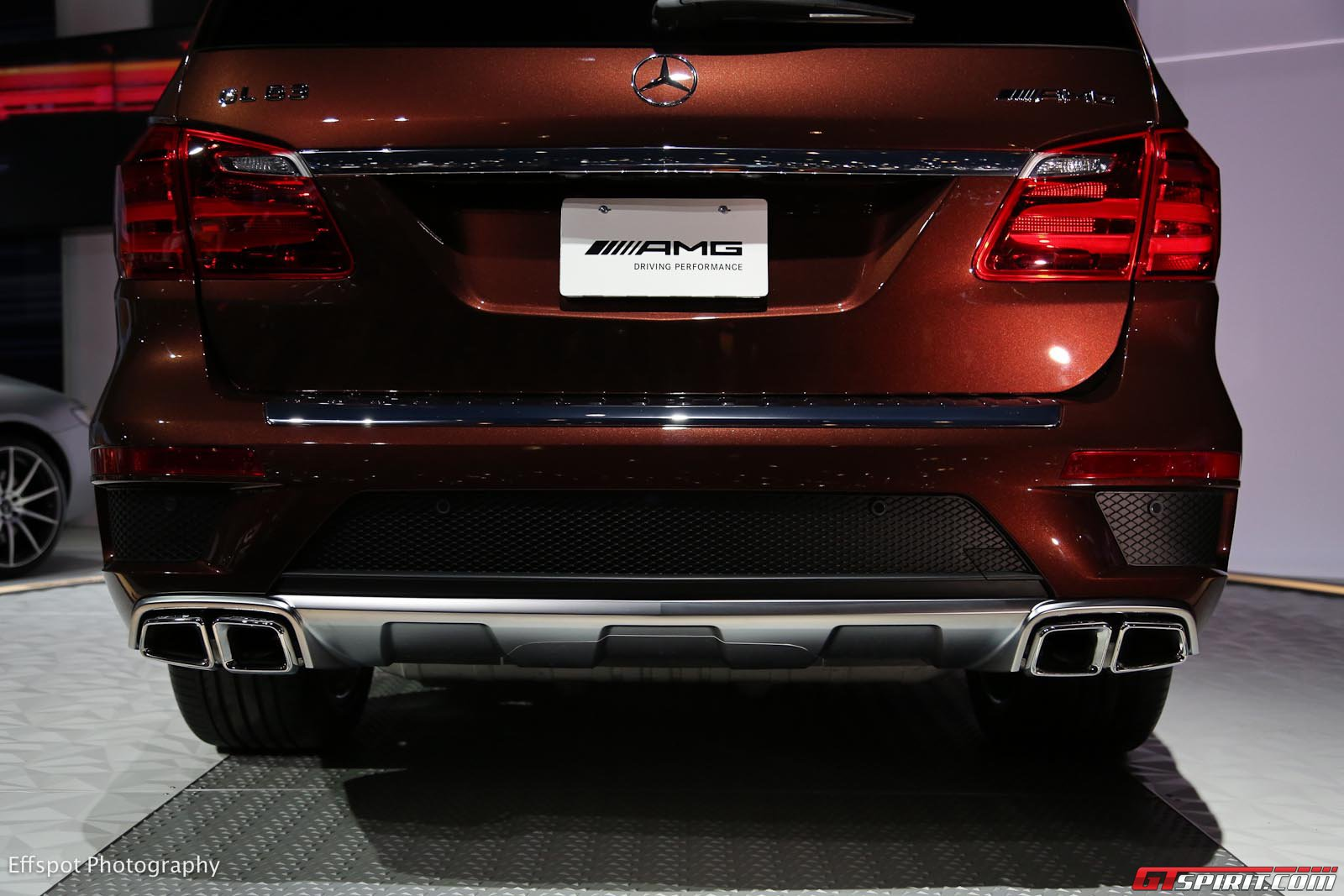 Los Angeles 2012: Mercedes-Benz GL 63 AMG - GTspirit