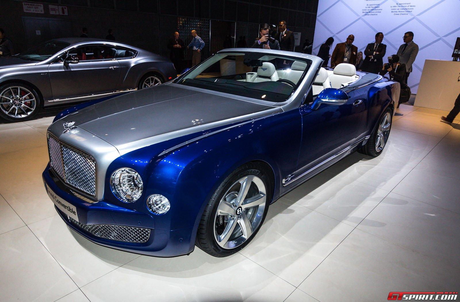 2014 Bentley Grand Convertible (50 Images) - HD Car Wallpaper