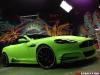 Mansory Aston Martin DB9 in Diamond Lime Green Matt Wrap by Dartz