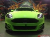 Mansory Aston Martin DB9 in Diamond Lime Green Matt Wrap by Dartz