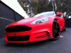 Mansory Aston Martin DBS in Red Satine Wrap by Dartz & MS Motors