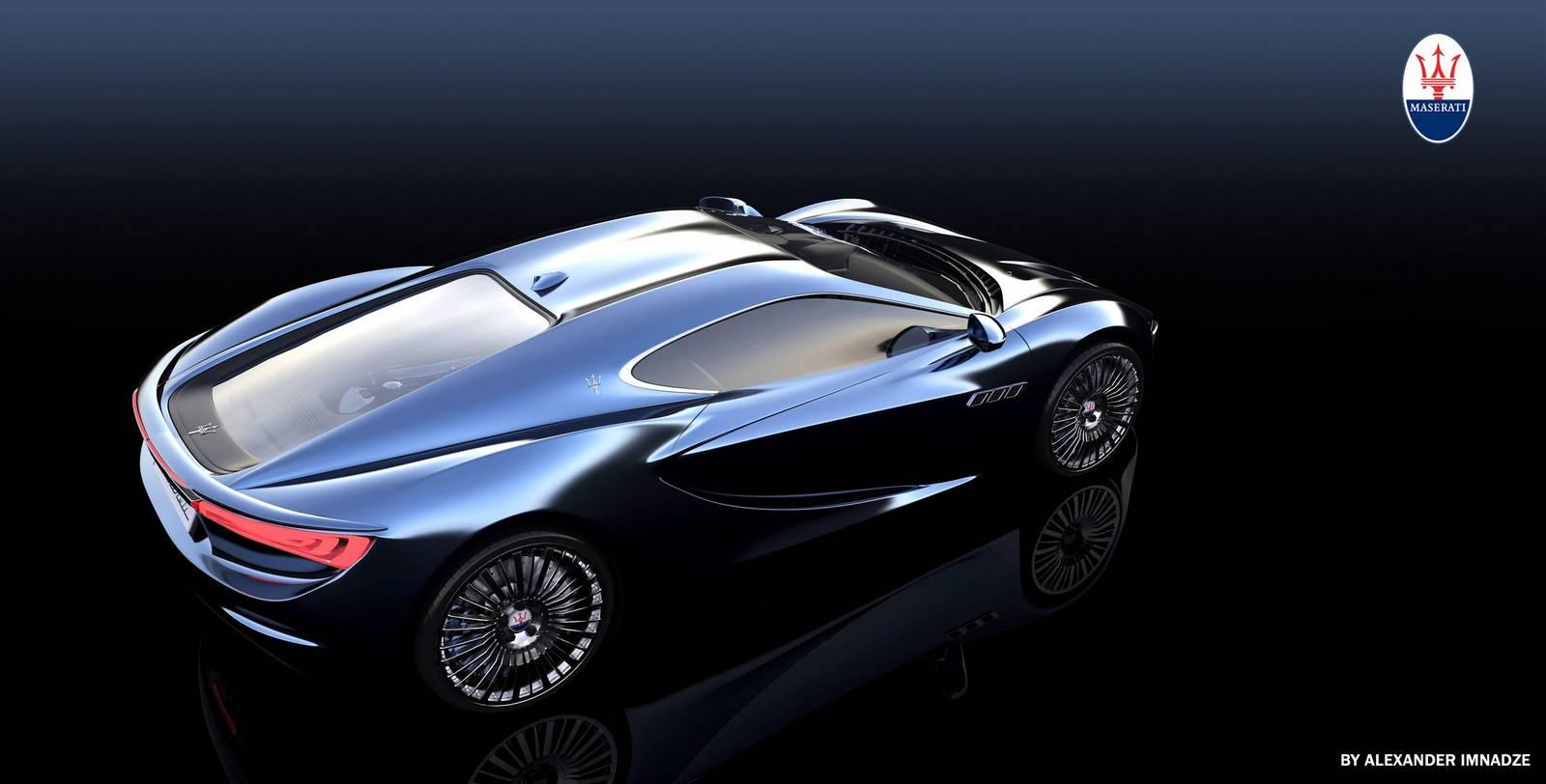 Render: 2013 Maserati Bora Concept