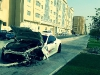 Maserati GranTurismo MC Stradale Totaled in Qatar