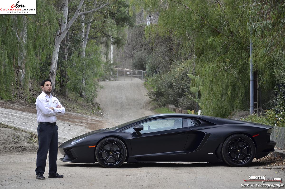 For Sale Matte Black Lamborghini Aventador Lp700 4 Gtspirit
