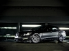 Matte Black Mercedes-Benz E63 AMG on ADV.1's