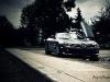 Matte Black Mercedes McLaren SLR 722s