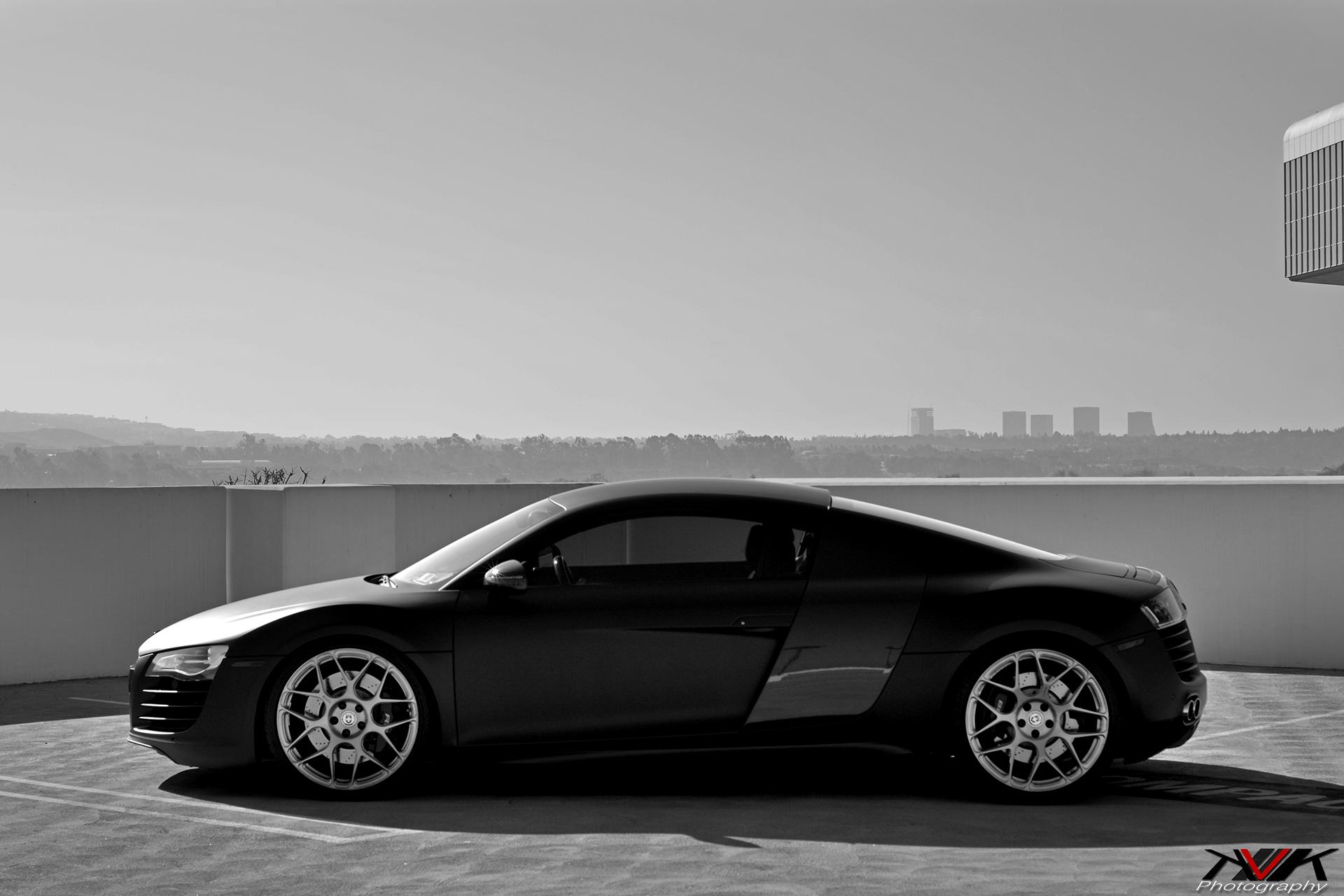 Matte Black Audi R8 On Hre P40sc S By Kvk Photography