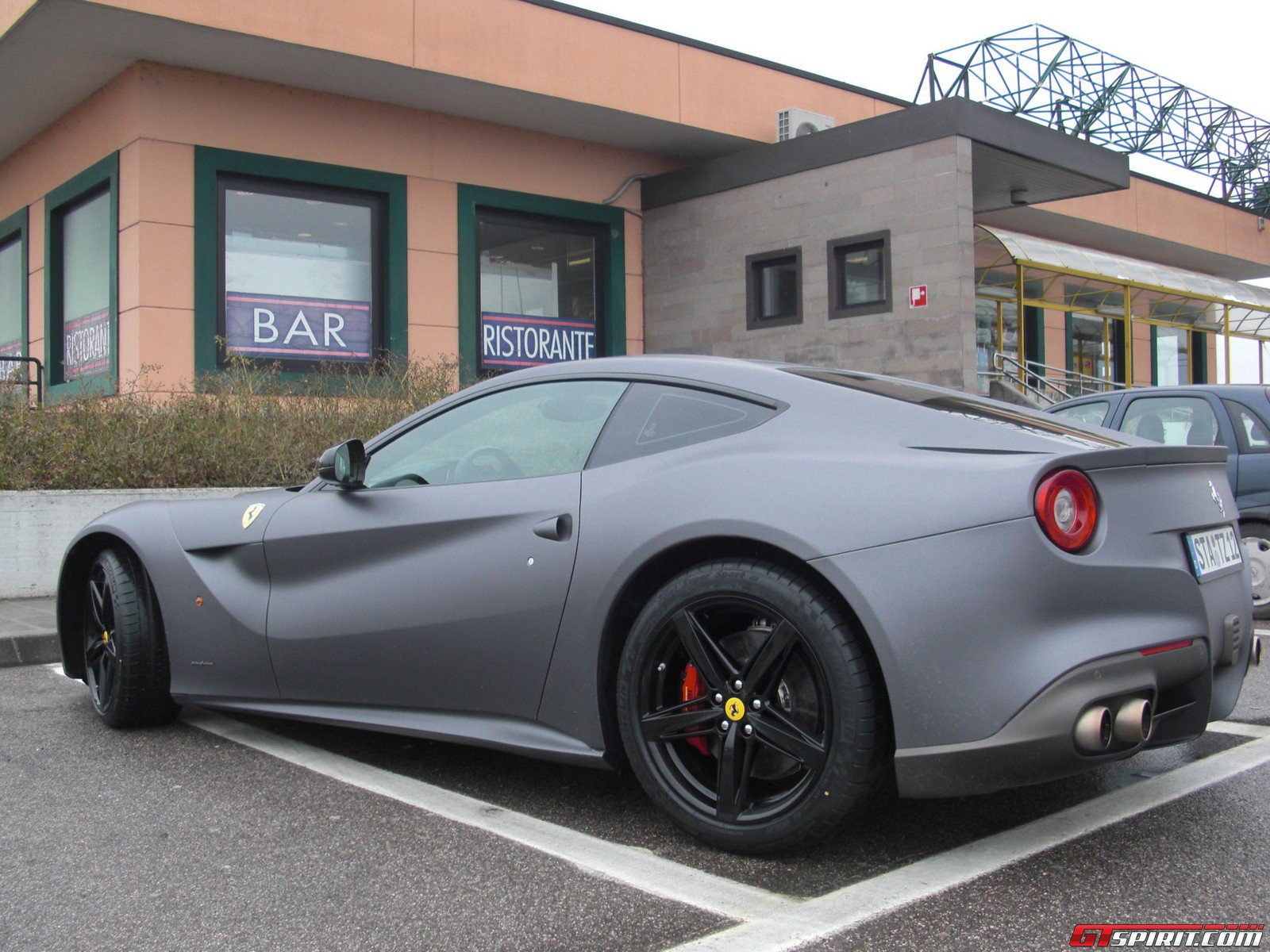 Matte Black Ferrari F12 Gallery  matte grey ferrariFerrari F12 Matte Black