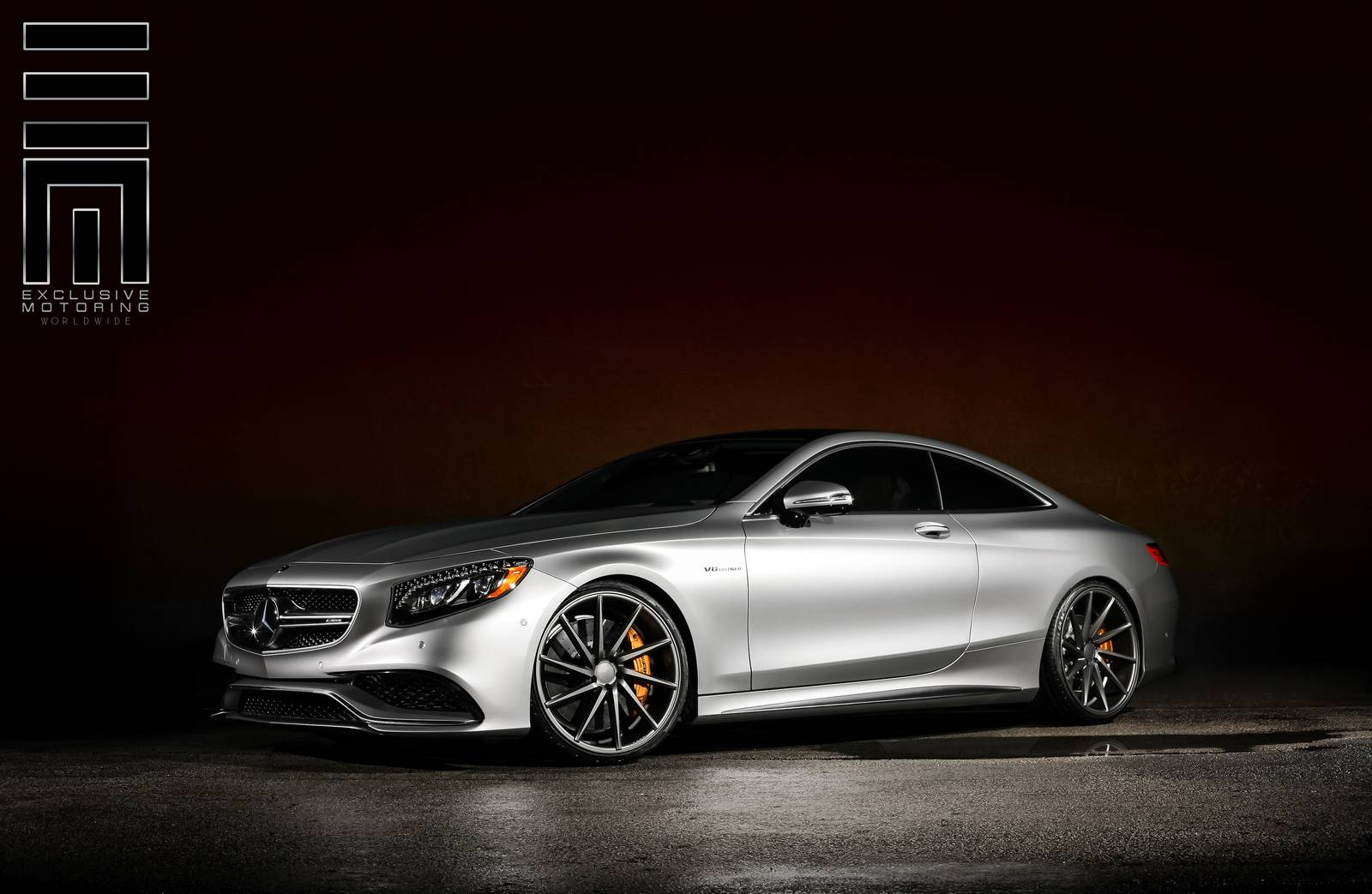 S63 amg coupe matte grey images for Matte mercedes benz