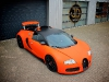 Matte Orange Bugatti Veyron Wrap by JD Customs