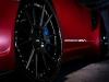 Matte Red Porsche 997.2 Turbo on ADV.1 Wheels
