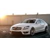 Matte White Mercedes-Benz CLS 63 AMG on ADV.1 Wheels