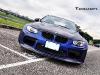 Matte Blue Vorsteiner GTRS3 BMW M3 Widebody
