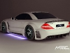 MEC Design Widebody kit for the Mercedes-Benz R230 SL