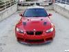 Melbourne Red BMW E92 M3 by European Auto Source