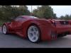 Melted Ferrari Enzo