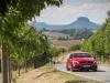 The A-Class, Dresden năm 2015, Pressefahrveranstaltung Mercedes Benz, A 45 AMG 4Matic, Dresden tháng 9 năm 2015, jupiterrot, Leder perforiert schwarz RED CUT, 7G-DCT Doppelkupplungsgetriebe