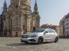 The A-Class, Dresden năm 2015, Pressefahrveranstaltung Mercedes Benz, A 45 AMG 4Matic, Dresden tháng 9 năm 2015, polarsilber kim loại, Leder perforiert schwarz RED CUT, 7G-DCT Doppelkupplungsgetriebe