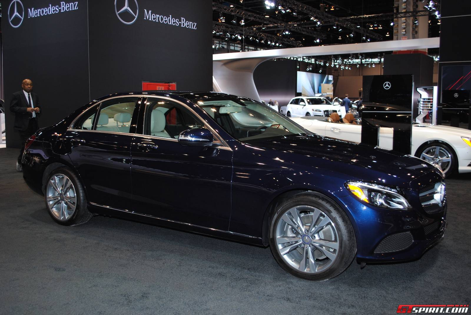 Pin benz at the detroit auto show 2013 motor pictures on for Mercedes benz chicago
