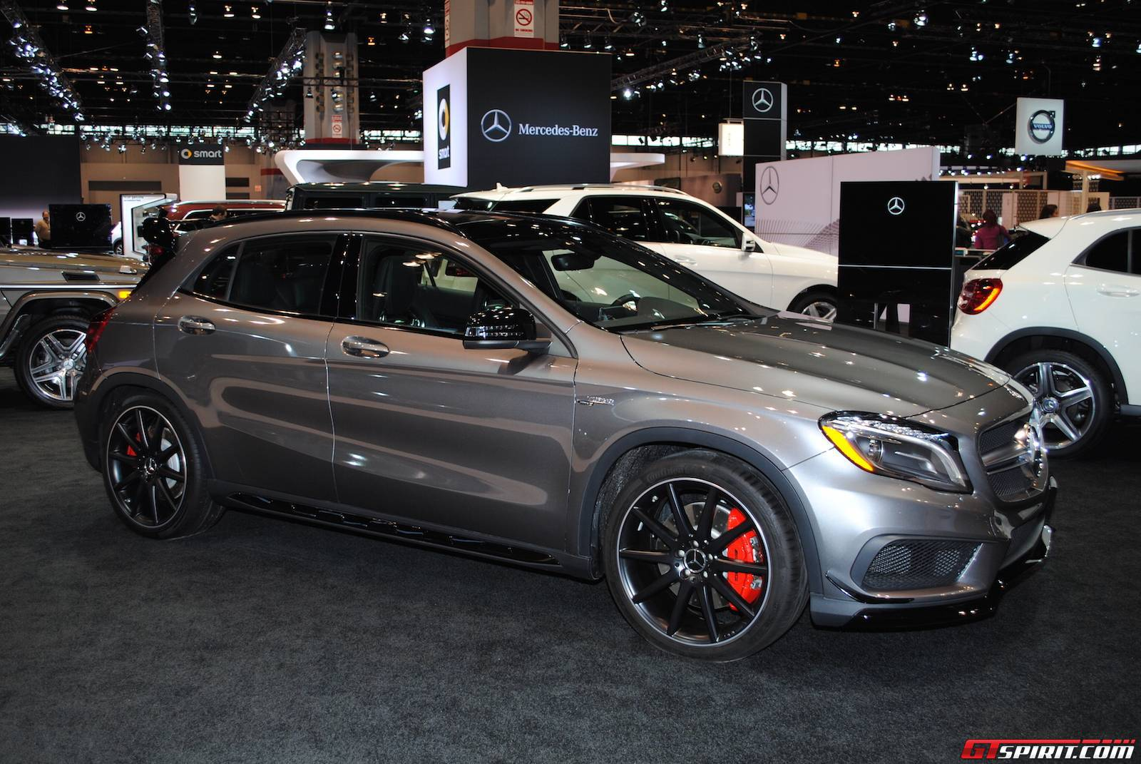 Chicago auto show 2015 tuning styling for Mercedes benz chicagoland