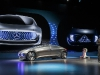 World premiere of the Mercedes-Benz F 015 Luxury in Motion at th