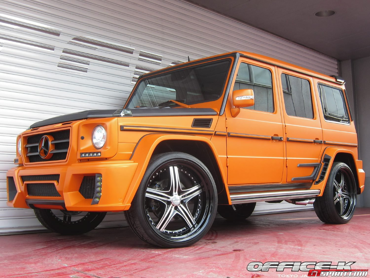 Mercedes Benz G55 Amg Black Bison By Office K Daily