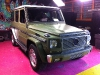 Mercedes-Benz G55 AMG wrapped in Army Green Satin by Dartz