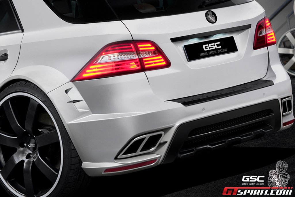 Official mercedes benz ml typhoon by gsc gtspirit for Official mercedes benz parts