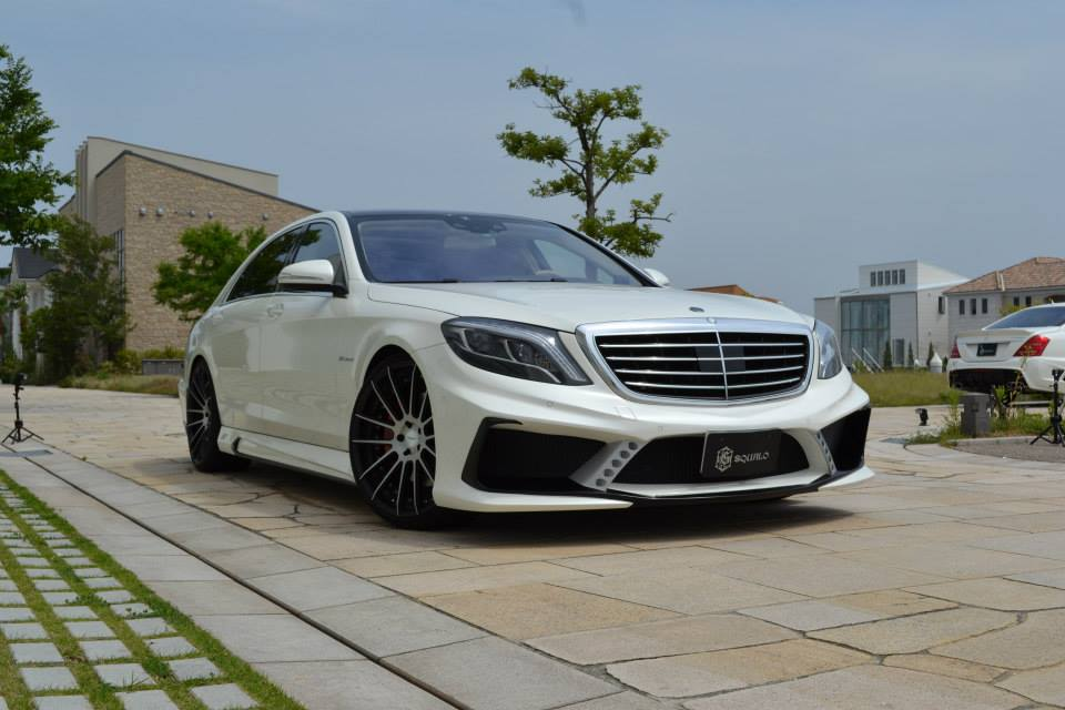 2014 vitt squalo mercedes s63 amg bodykit dark cars wallpapers. Black Bedroom Furniture Sets. Home Design Ideas