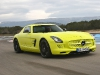 Mercedes-Benz SLS E-Cell and SLS AMG Black Series at Paul Ricard Circuit