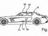 Mercedes SLS AMG Four Door Patent Designs