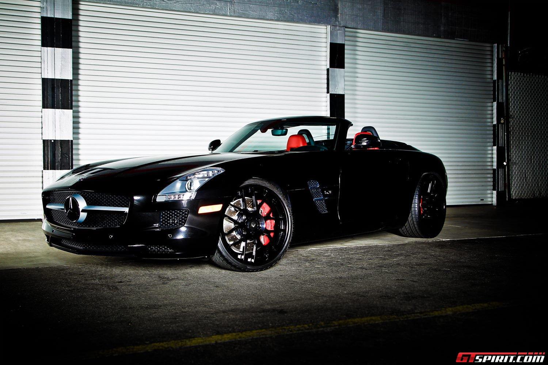 Sls Amg Roadster Black Black Mercedes-benz Sls Amg