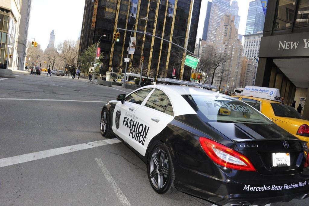 new mercedes cls 63 amg. Mercedes CLS63 AMG Patrol Car