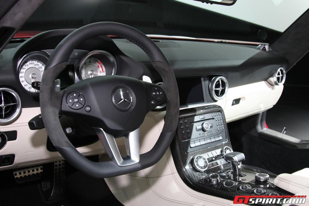 mercedes sls amg. IAA 2009: Mercedes SLS AMG