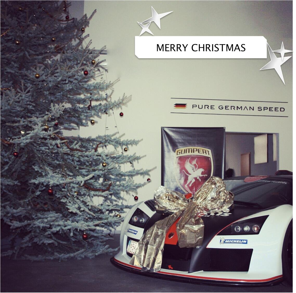 Merry Christmas From Supercar Manufacturers Photo 5