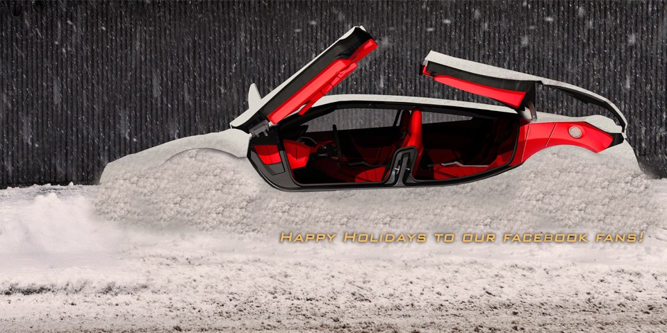 Merry Christmas From Supercar Manufacturers Photo 19