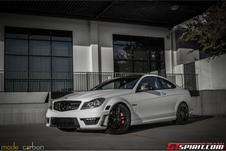 Mode Carbon MercedesBenz C63 AMG Coupe in Matte White  Daily