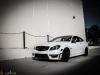 Mode Carbon Matte White Mercedes C63 AMG Coupe