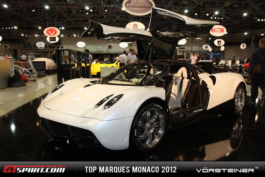 Monaco 2012 Pagani Huayra White Edition Photo 1