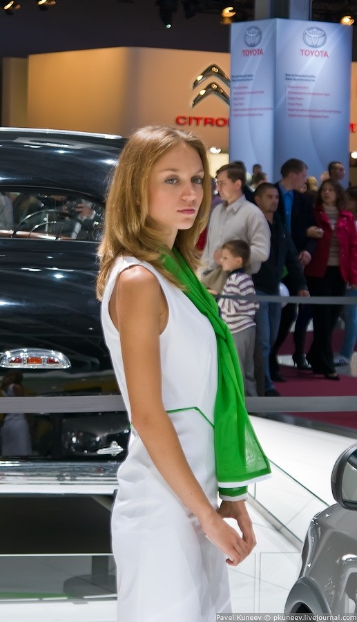 2010 Mustang For Sale >> Moscow International Automobile Show 2010 Girls - GTspirit