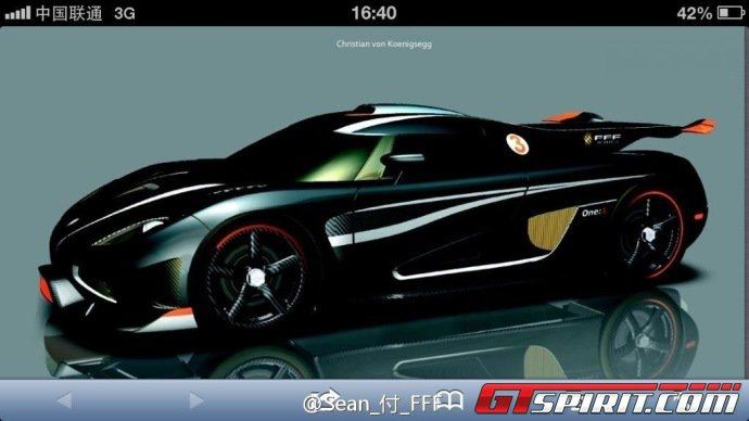 Mysterious Koenigsegg One 1 Design Drawings Photo 1