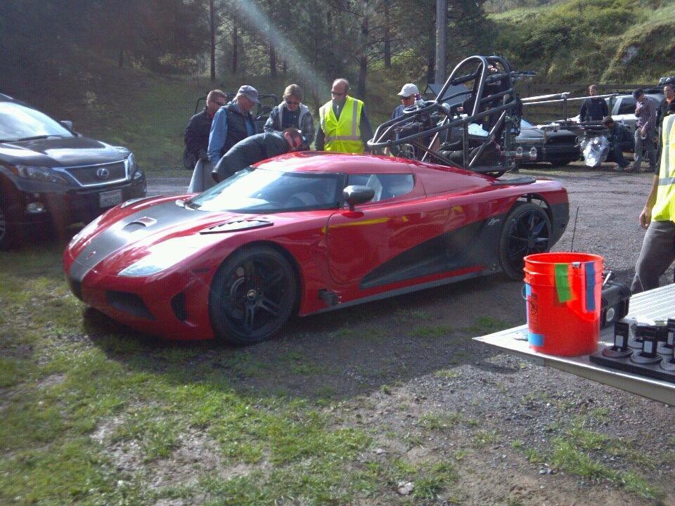 Spyshots New Need For Speed Photos Reveal Fake Koenigsegg Agera R