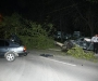 Nissan GT-R cuts tree in car crash