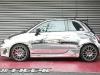 Office-K Chrome Wrapped Abarth 695 Tributo Ferrari