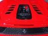 Ferrari 458 Spider Engine Glass Cover by Capristo