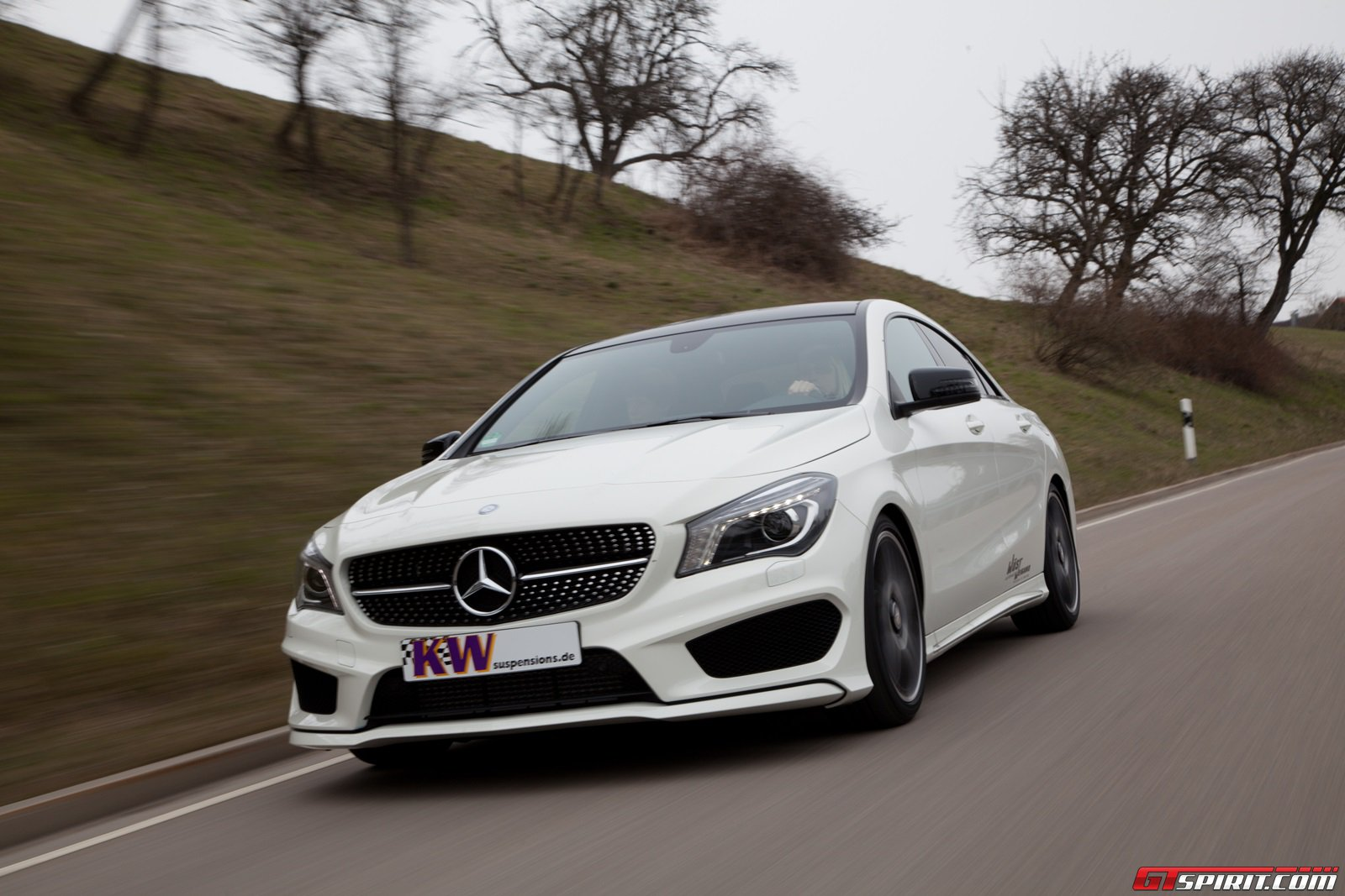 kw coilovers for mercedes benz cla class mercedes cla forum. Black Bedroom Furniture Sets. Home Design Ideas