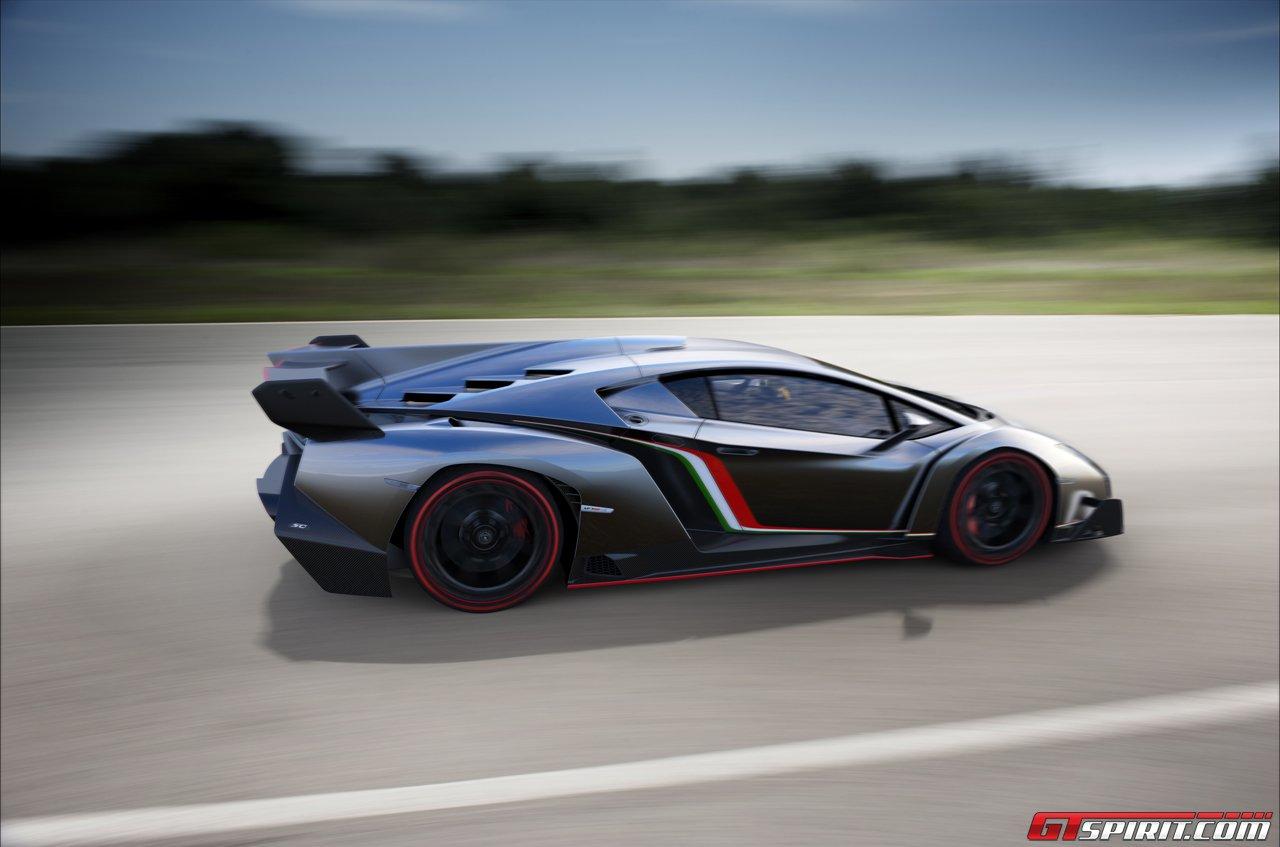 Official: Lamborghini Veneno