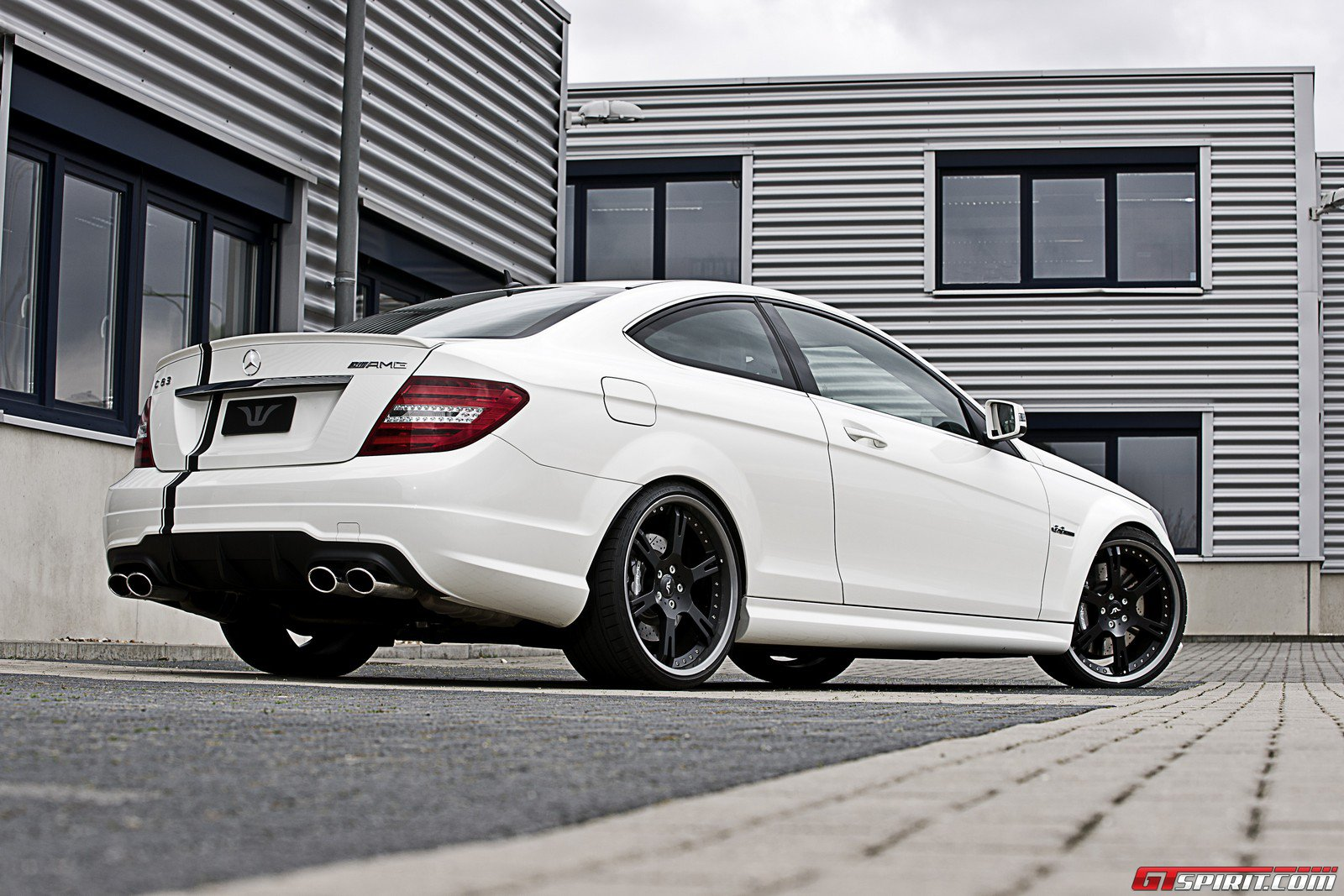 Rims And Tires Canada >> White C63 Coupe on 20's and coilovers by Wheelsandmore ...